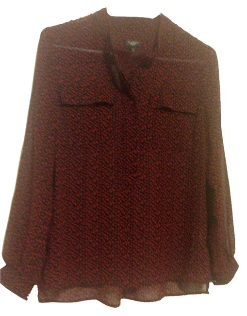 Preload https://item5.tradesy.com/images/talbots-red-and-black-blouse-size-2-xs-3078724-0-0.jpg?width=400&height=650