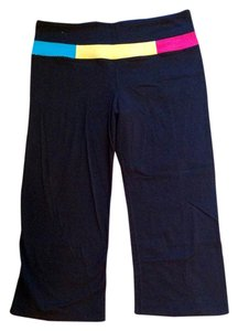 Lululemon Colorful Waistband Lululemon Cropped Leggings