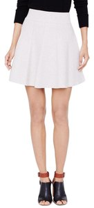 Club Monaco Mini Skirt Heather Oatemal
