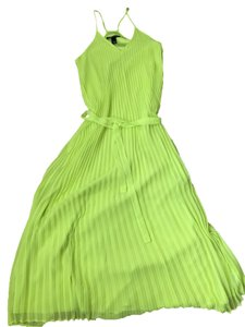 Yellow lime Maxi Dress by Victoria's Secret