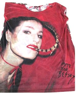 Betsey Johnson T Shirt Red