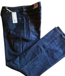 Chico's Boot Cut Jeans-Dark Rinse