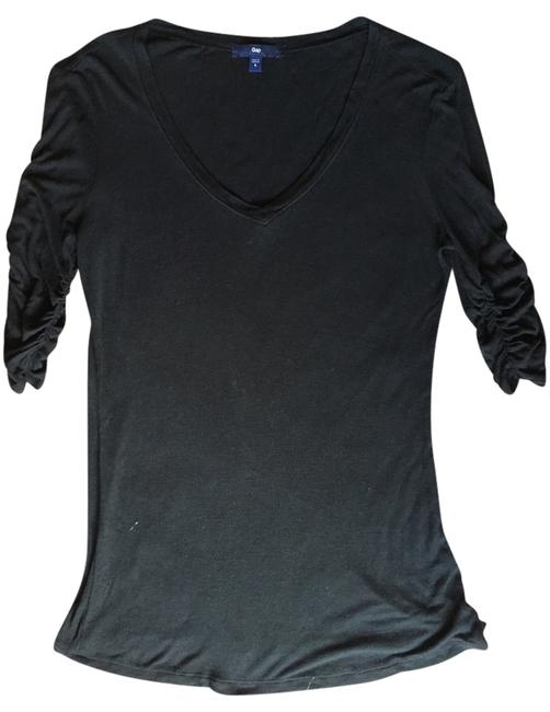 Preload https://item3.tradesy.com/images/gap-black-blouse-size-4-s-3080002-0-0.jpg?width=400&height=650