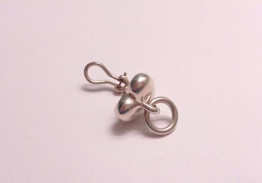 Tiffany & Co. Tiffany & Co. heart-shaped ear clip-ons in sterling silver
