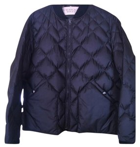 Burberry Puffer Bomber Plaid Quilted Coat