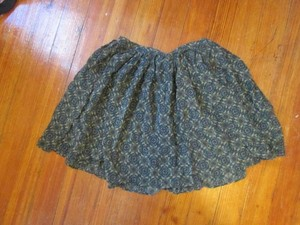 J.Crew Silk Circle Skirt Green, Purple