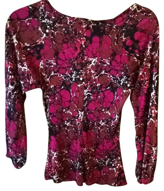 Mara Hoffman Top Red purple