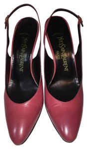 Saint Laurent Light Magenta Pumps