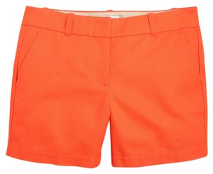 J.Crew Summer Chino Dress Shorts Orange