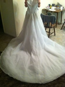 Oleg Cassini Princess Gown Wedding Dress