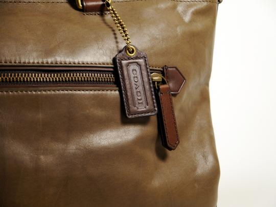 Coach Tote in Clay and Slate