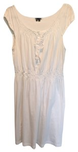 Theory short dress White Ruffle Summer on Tradesy