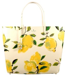 Kate Spade Tote in Lemon Green Cream