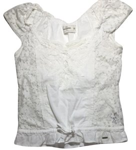 abercrombie kids Top White
