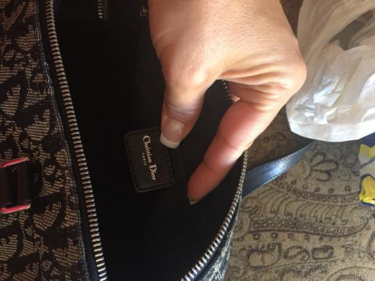 Dior Satchel in Black Logo Dior