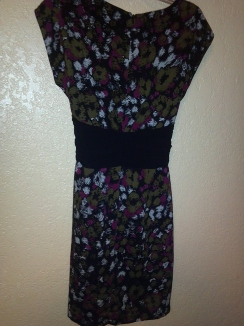 Gianni Bini Pattern Luxe Dress