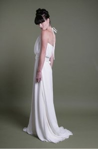 Eco-couture Silk Halter Wedding Dress Wedding Dress