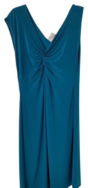 Tiana B. short dress Dark teal blue on Tradesy