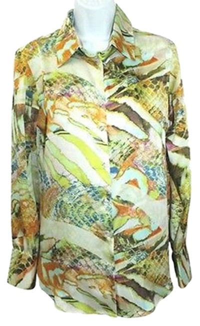 Preload https://item4.tradesy.com/images/print-satin-s-button-down-top-size-6-s-3084793-0-0.jpg?width=400&height=650