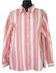 Foxcroft Wrinkle Free Cotton Shirt Button Down Shirt