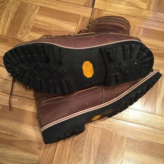 Band of Outsiders Vibram Leather Brown Boots