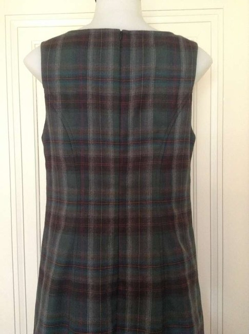 Pendleton short dress Emerald Plaid Tartan Sheath Sheath on Tradesy