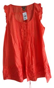 Nordstrom A-line Dmbm Junior New With Tag Top Orange