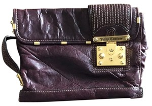 Juicy Couture Burgandy Clutch