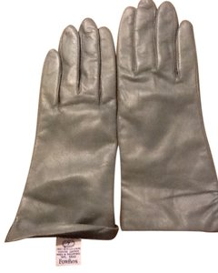 Fownes Fownes Genuine Leather Grey Gloves