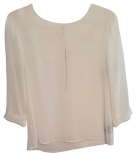 PJK Patterson J. Kincaid Sheer Top White