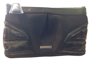 Burberry Cosmetic Nylon Black Clutch