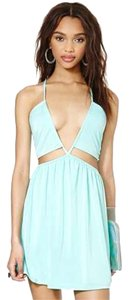 Nasty Gal short dress Mint on Tradesy