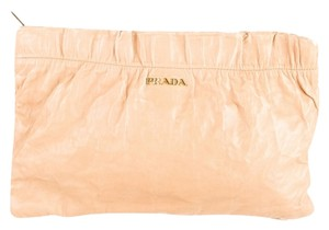 Prada Tan Clutch