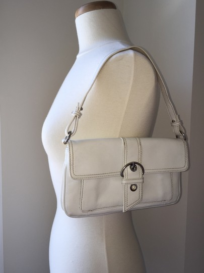 Giani Bernini Wristlet Shoulder White Clutch