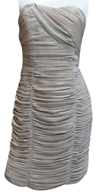 H&M H & M Ruched Strapless Dress