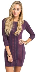 O'Neill short dress Purple on Tradesy