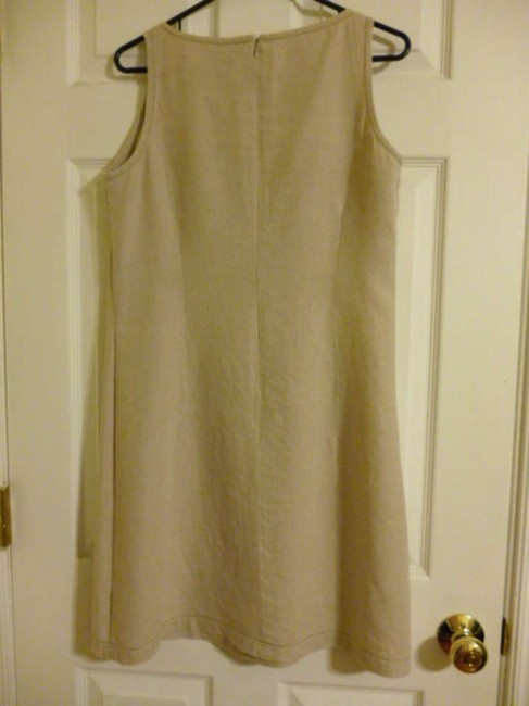 Old Navy short dress Light Tan Sundress on Tradesy