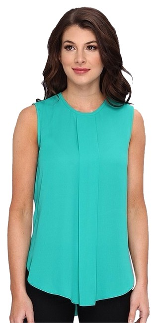 Preload https://item2.tradesy.com/images/vince-camuto-teal-blouse-size-4-s-3087091-0-0.jpg?width=400&height=650