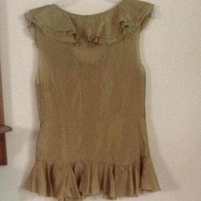 DKNY Top Light Olive
