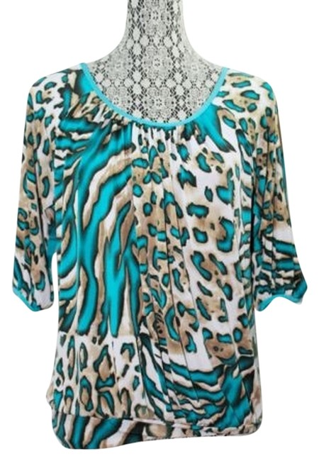 Preload https://item4.tradesy.com/images/animal-print-stretch-s-blouse-size-6-s-3087478-0-0.jpg?width=400&height=650