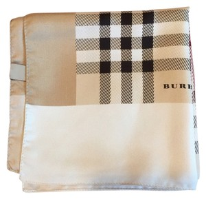 Burberry London STILL FOLDED-NEVER WORN---BURBERRY LONDON 100% SILK 45