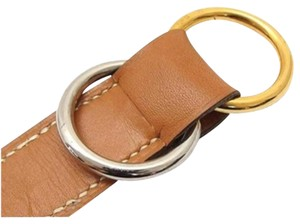 Hermès Hermes Belt Two Tone Silver Gold Plated 165667 HTL113 IVAN