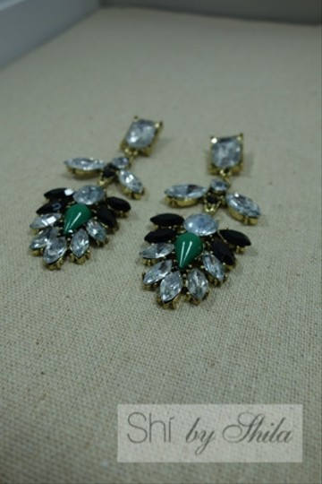 """Other """"Emerald Bay"""" Statement Earrings"""