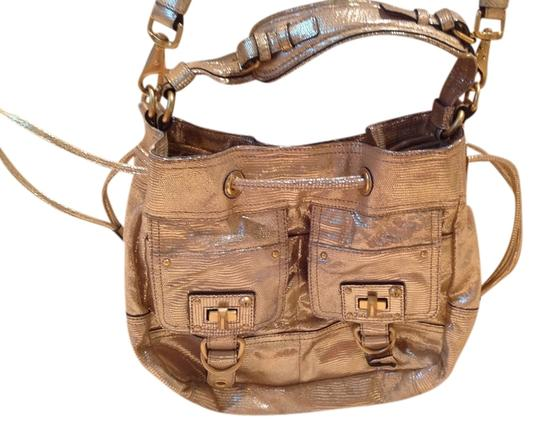 Preload https://item5.tradesy.com/images/juicy-couture-gold-leather-satchel-3088594-0-0.jpg?width=440&height=440