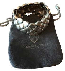 Philippe Audibert Silver Stretch Bracelet