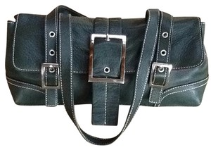 Maxximum Satchel in Green Leather