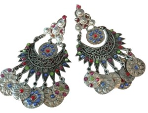 Erickson Beamon Turkish Delight Coin Earrings