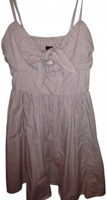 Preload https://item2.tradesy.com/images/h-and-m-light-pink-sun-vintage-pinstripes-bows-knee-length-short-casual-dress-size-8-m-30891-0-0.jpg?width=400&height=650