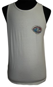 Alstyle Apparel Alstyle Mens Tank, White with North Shore Logo on Front and Back