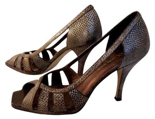 Preload https://item2.tradesy.com/images/anne-klein-brown-leather-snake-embossed-cutout-high-pumps-size-us-75-regular-m-b-3089371-0-3.jpg?width=440&height=440